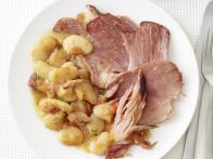 Slow-Cooked Ham and Beans