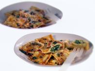 Ravioli with Spicy Sage Butter