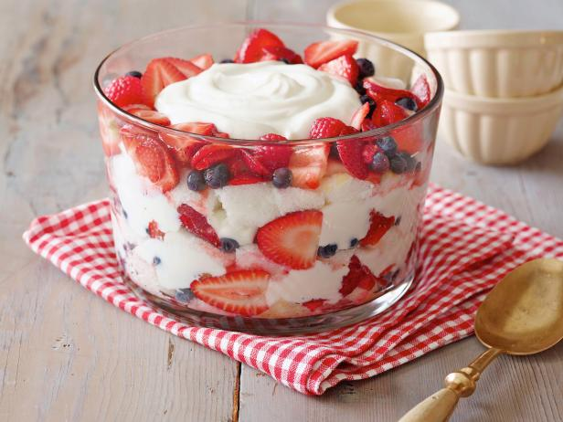 Low Fat Trifle Recipes Angel Food Cake