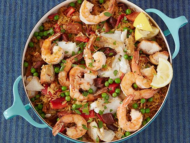 Make-Ahead Paella Casserole