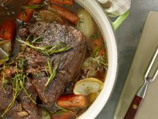 Feed your family with Ree Drummond's Perfect Pot Roast recipe from Food Network. Fresh rosemary and thyme add rich, herbal resonance to this hearty roast.