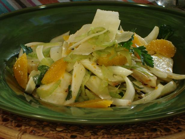 grilled fennel salad with oranges - Ina Garten Fennel Salad