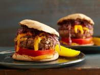 Juicy Grilled Cheeseburgers