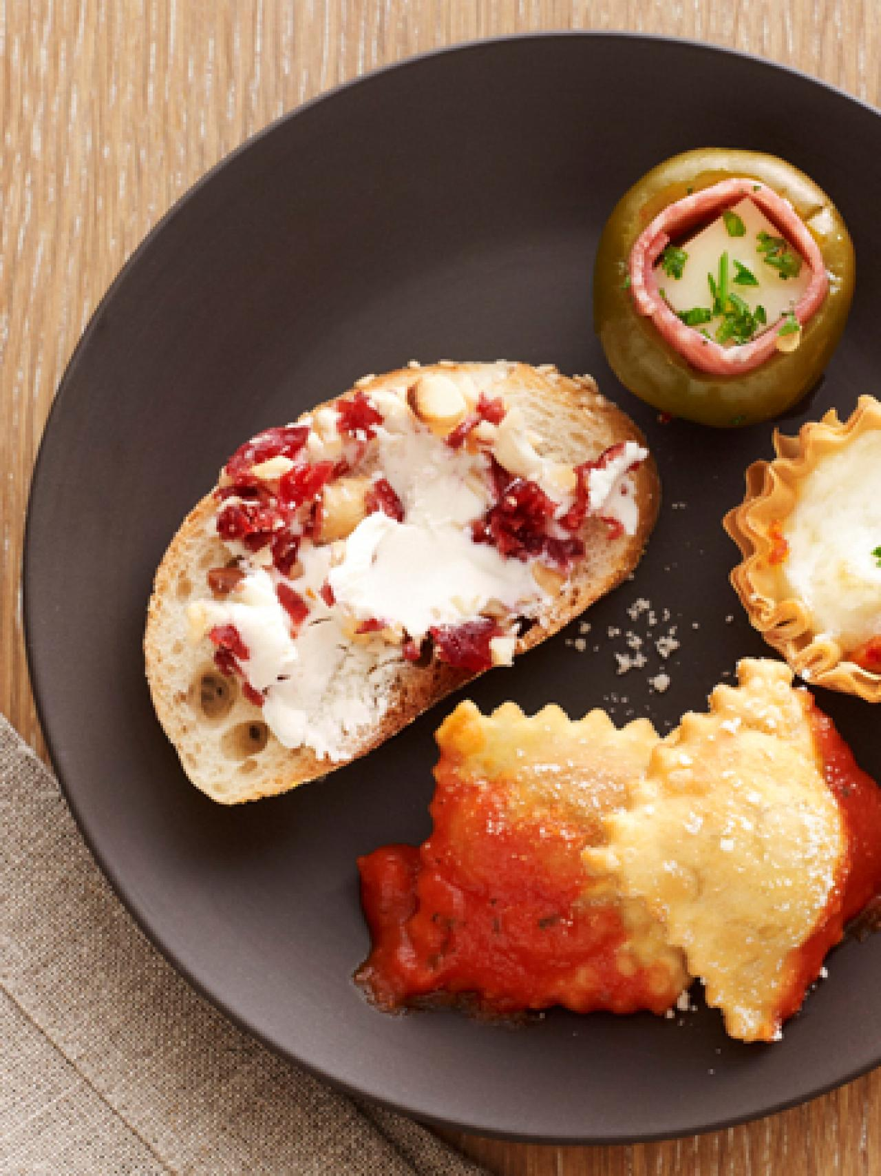 50 easy appetizer recipes : recipes and cooking : food network
