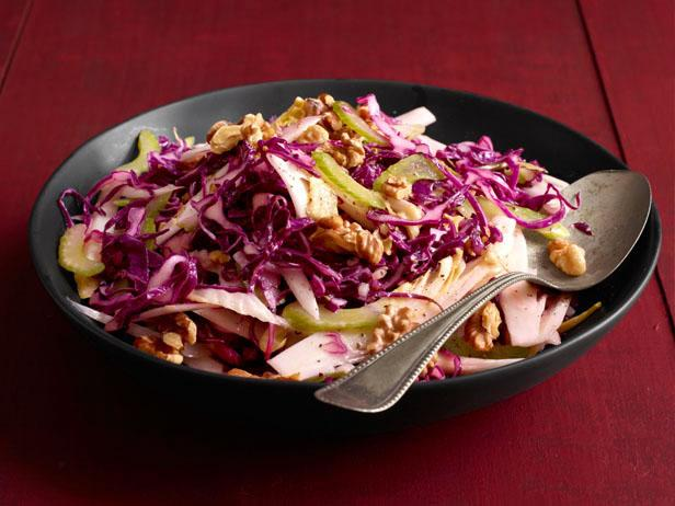 Red Cabbage-Endive Salad
