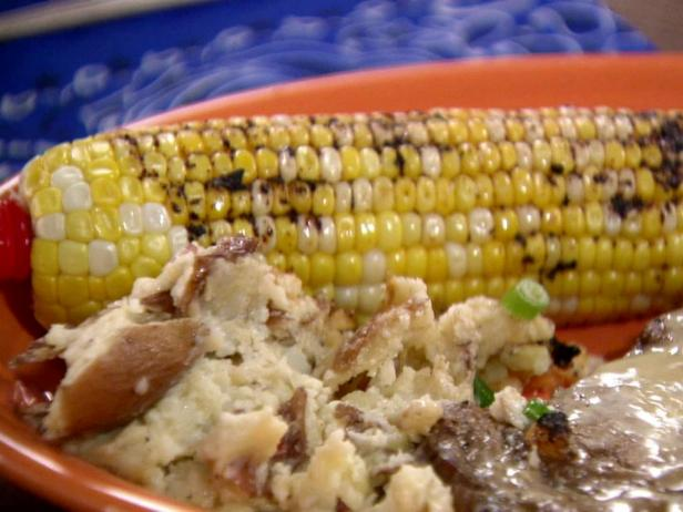 Corn with Pasilla Butter