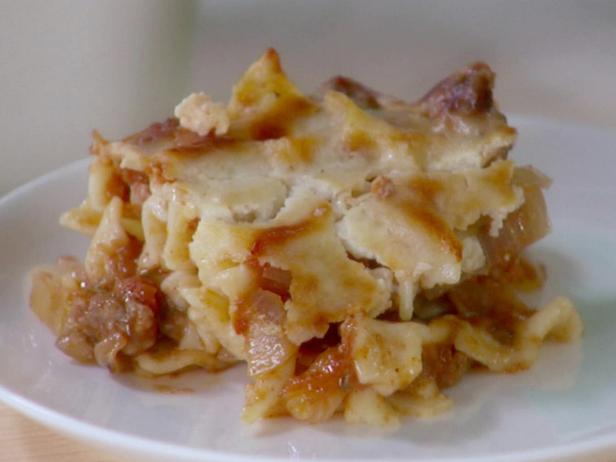 Greek Noodle Casserole (Pastitsio)