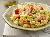 Pasta Salad with Poached Shrimp and Lemon-Dill Dressing