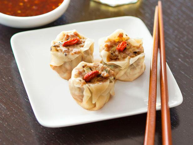 Steamed Pork-and-Mushroom Shumai