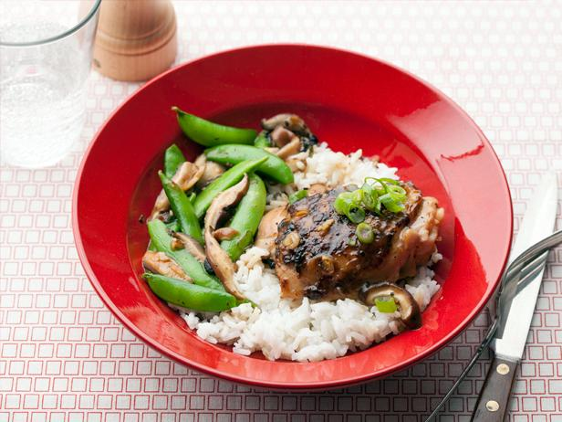 Chicken with Snap Peas and Shiitakes Recipe | Ming Tsai ...