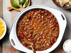 Ree Drummond's Simple, Perfect Chili recipe from The Pioneer Woman on Food Network will be a new comfort-food favorite for your family.