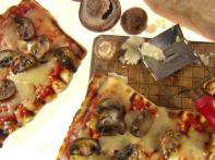 Grilled Mixed Mushroom Pizza