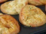Garlic and Cheese Popovers