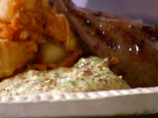 Horseradish, Parsley and Mustard Dipper