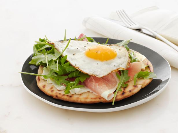 Crispy Breakfast Pita