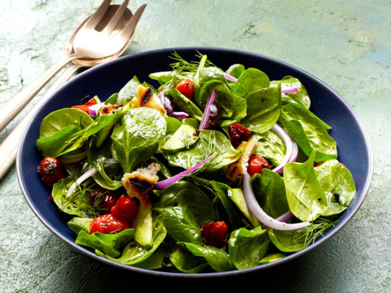 Get Your Green On with Springtastic Side Salads | FN Dish ...