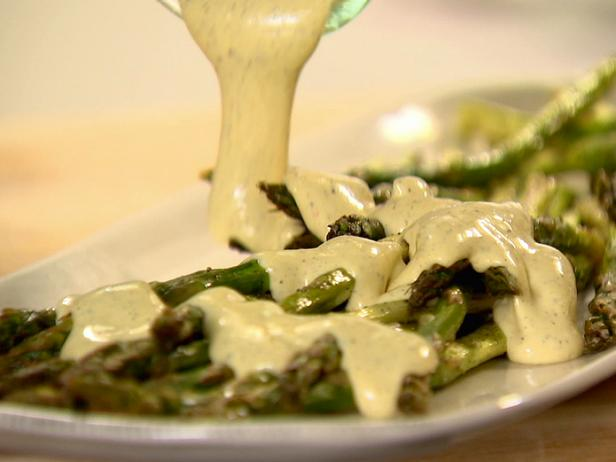 Roasted Asparagus with Hollandaise