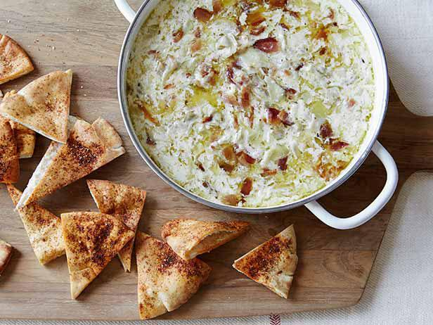 Warm Artichoke and Bacon Dip