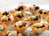 Brie and Merlot Mushrooms Bites