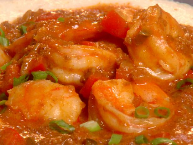 Mexican Shrimp and Grits