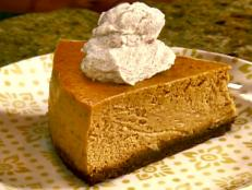 Gina Neely shares her recipe for Gina's Pumpkin Cheesecake for Food Network.