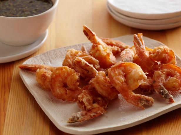 Shrimp Tempura with Soy Sake Dipping Sauce