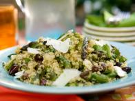 Quinoa Salad with Asparagus, Goat Cheese and...