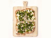 White Pizza With Broccolini