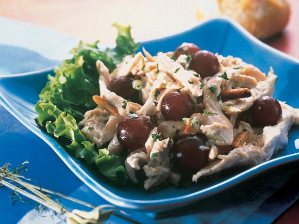 Chicken Salad with Grapes and Tarragon