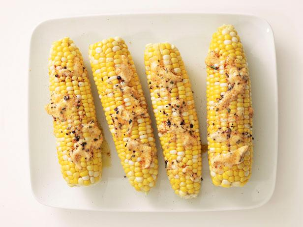Corn With Paprika Butter