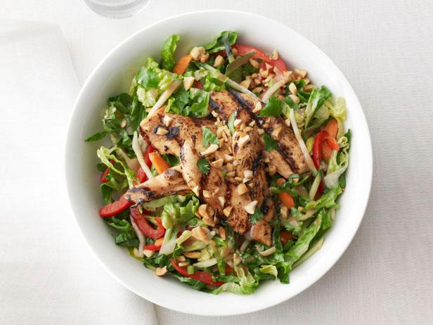 Chicken Satay Salad