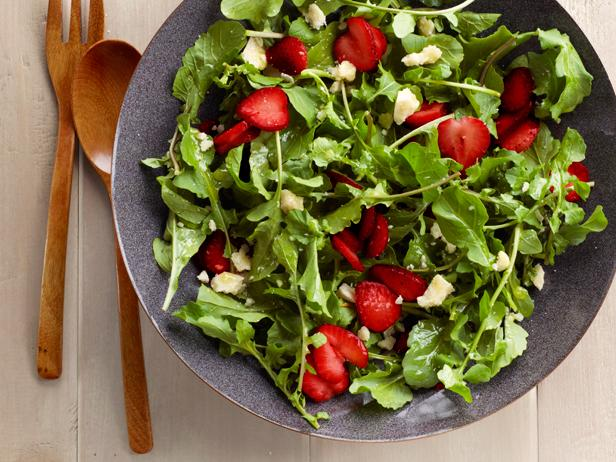 Strawberry-Arugula Salad With Sweet Lime Vinaigrette