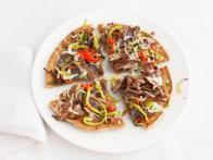 Philly Cheesesteak Pizzas