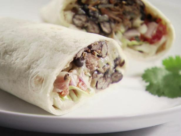 Round 2 Recipe - Beef and Bean Burritos