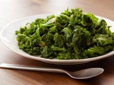 Try Bobby Flay's simple Sauteed Kale recipe from Food Network. For a pop of flavor, add a splash of red wine vinegar at the end.