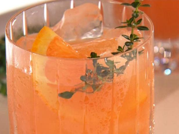 Herb and Orange Negroni