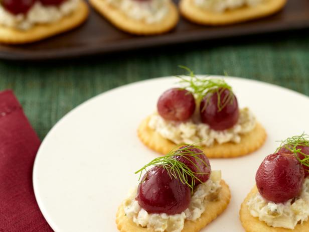 Roasted Grapes and Caramelized Fennel Mascarpone