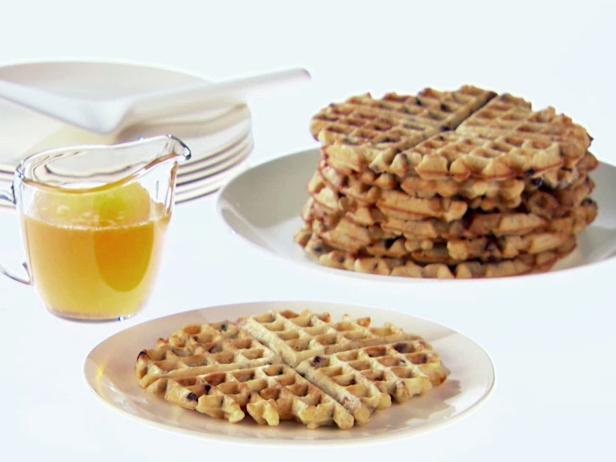 Lemon-Almond Waffles