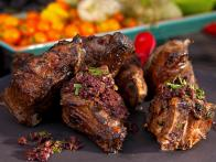 Grilled Lamb Chops with Olive Tapenade