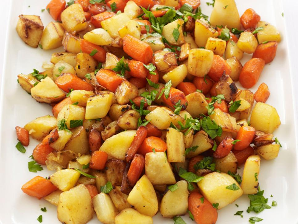 Roasted Root Vegetables Recipes Food Network