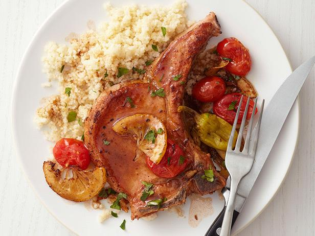 Braised Pork Chops with Sage