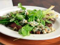 Paprika Flank Steak with Watercress