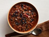 Black Bean, Lentil and Eggplant Chili
