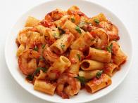 Rigatoni with Spicy Shrimp