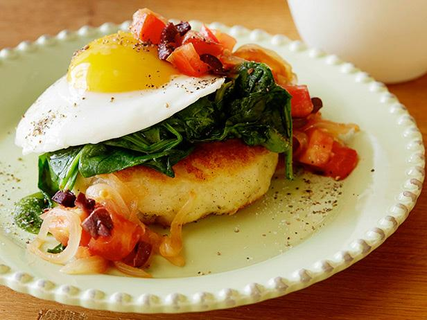 Potato Cakes and Eggs