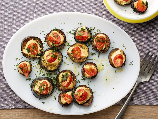 Middle-Eastern Eggplant Rounds