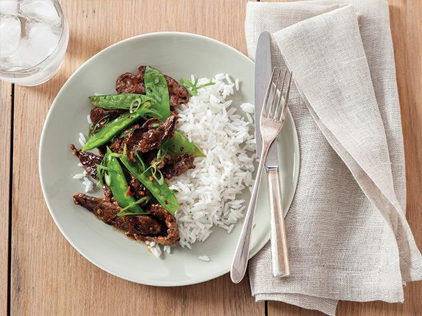 Beef with Snow Peas