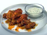Honey-Rosemary Wings with Greek Yogurt and...