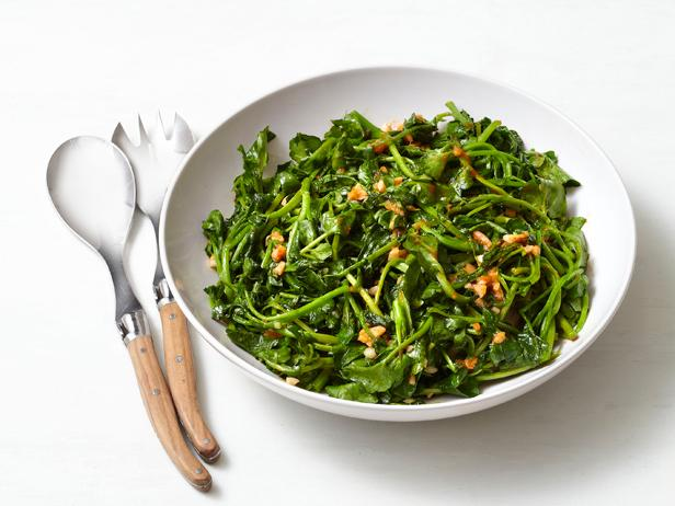 Spicy Watercress With Ginger