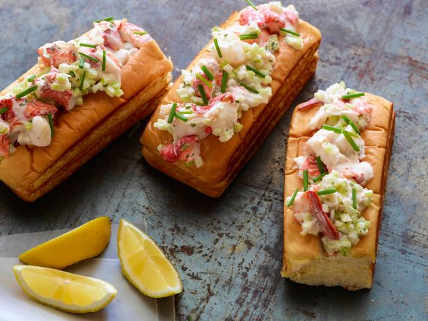 Buttery Lobster Rolls For Your Baby